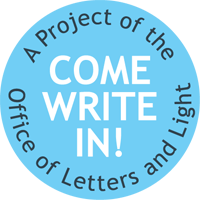 Come write in logo