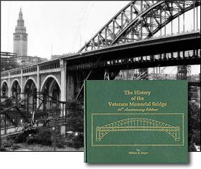 View of the Veterans Memorial Bridge