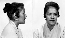 1957 Mug shots of Dollree Mapp