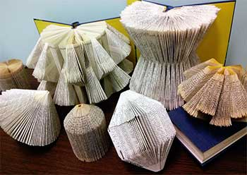 examples of folding book art