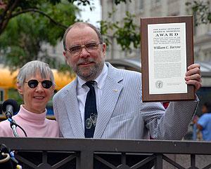 Jill Herrick and Bill Barrow