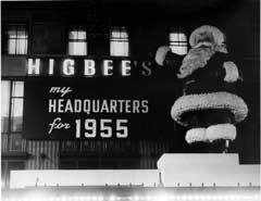 Higbee's Santa, 1955