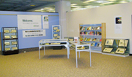 A view of the Huntington display