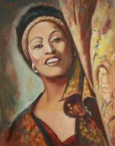 Jessie Norman by Charles, Jr. Sallee