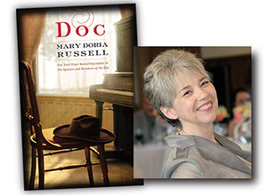 Mary Doria Russell and Doc book cover
