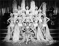 Performers at the Mayfair Casino