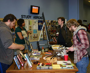 Students at Passport to the World