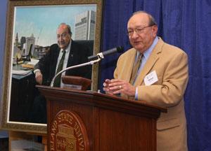 Dr. Michael Schwartz and portrait
