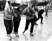 Skating in Lakewood