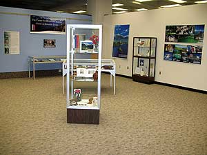 Photo of the display
