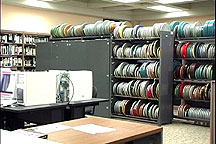 View of the Video and Film Collection