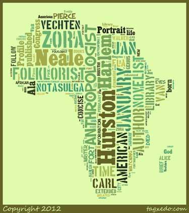 African Diaspora Tag Cloud