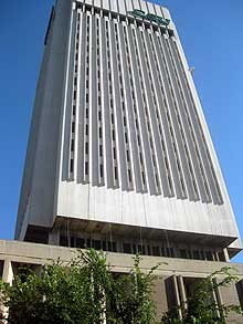 Michael Schwartz Library, Rhodes Tower