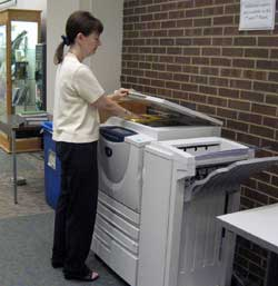New photocopier in Reference