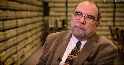 Bill Barrow - a screenshot from the Ideastream video