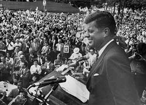 John F. Kennedy in Cleveland, 1960