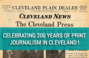 Celebrating 200 year of print journalism in Cleveland