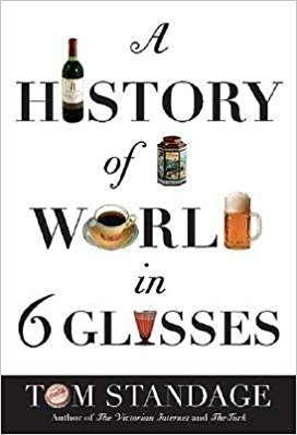 Book Cover for A Story of the World in 6 Glasses