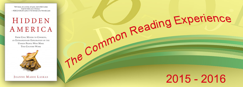 Link to information about the Common Reading Experience 2015-16