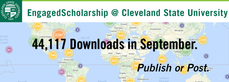 44,244 papers were loaded from Engaged Scholarship in September