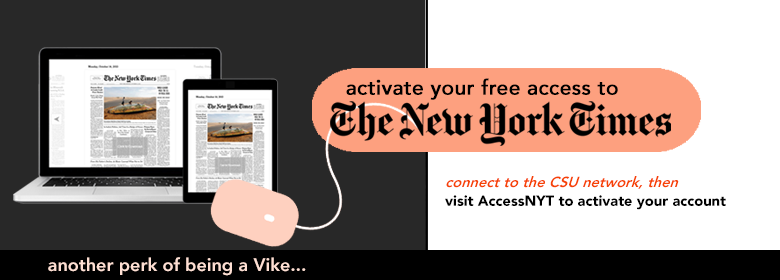 Activate your free New York Times access