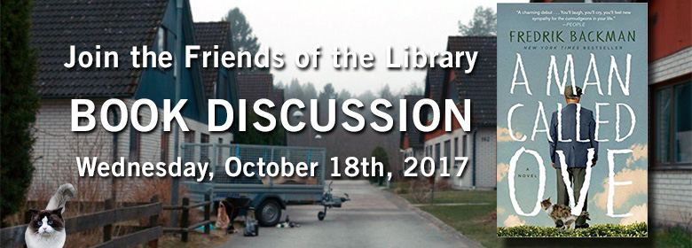 Friends Book Discussion October 18th