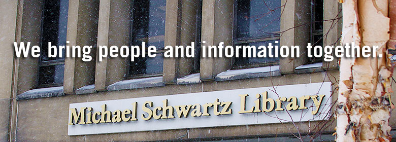 Welcome to the Michael Schwartz Library. We bring people & together