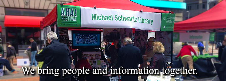 Michael Schwartz Library brings people and information together at the AHA Festival