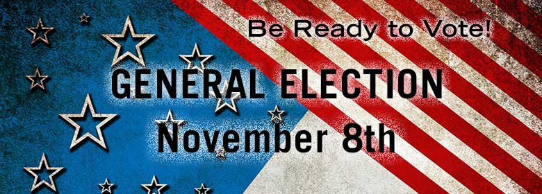 Be Ready to Vote - Election Information