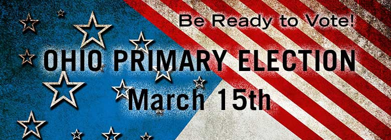 Link to voter information for the Ohio Primary on March 5th