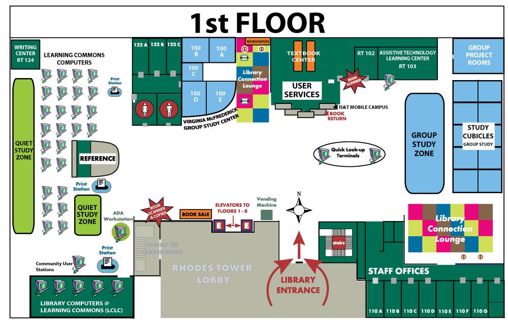 Floor Plans: 1st Floor - Michael Schwartz Liry, CSU on