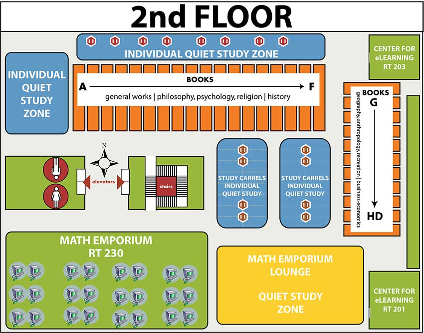 Floorplan for 2nd floor