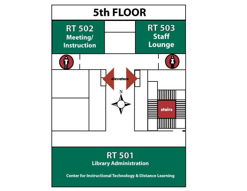 Floorplan for 5th floor