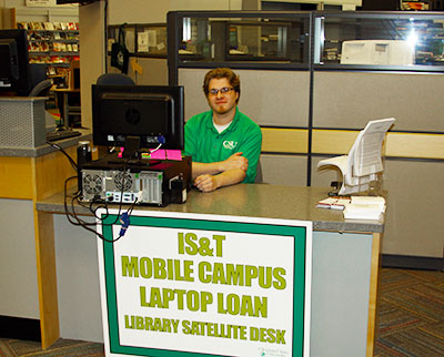Mobile Campus Satellite Desk
