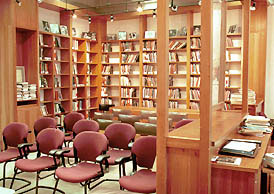 Inside the Contemporary Poetry Room