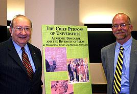 President Schwartz & Professor Bowen