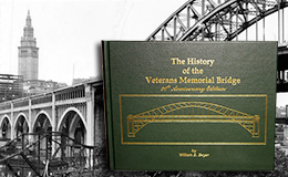 Book Cover for the History of the Veterans Memorial Bridge