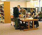 History class in Special Collections